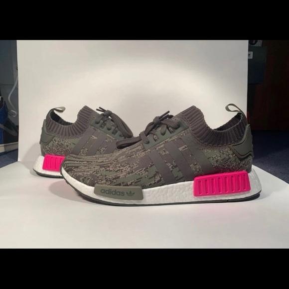 factor robot Marcado  adidas Shoes | Nmd Camo Pink | Poshmark